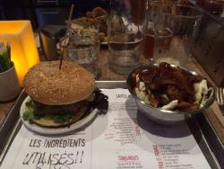 Burger and Poutine