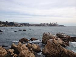 view to Vina del Mar (from the bar terrace)