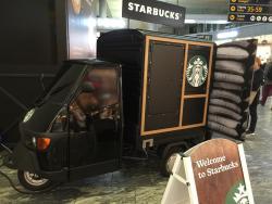 Mini Starbucks after Duty Free