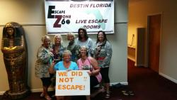 Escape Zone 60, Destin