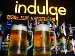 Buy 1 Get 1 FREE For Local Beer Singha, Half Pint 120++, Everyday 11.00 am -17.00 pm. At Indulge