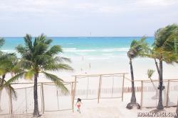 Beach fron of Discovery Shores Boracay