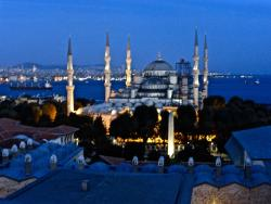 View from the balcony of Fine Dine Istanbul