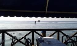 Mare dalla terrazza