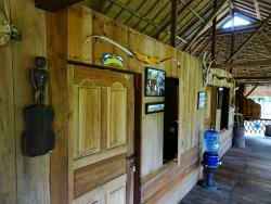 Ambiance at 4Pohon Eco lodge....
