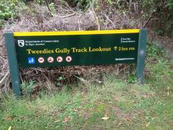 Tweedies Gully Track