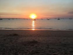 Brilliant sunset at Darwin Sailing Club