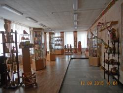 Один из залов музея.