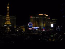 View from Bellagio room #9018
