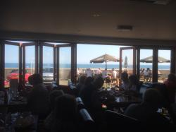 The View from the restaurant @The Cricket Inn Beesands