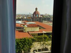 Window view, Room 603