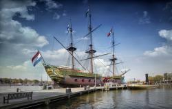 The East Indiaman 'Amsterdam'