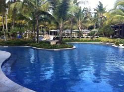Small view of large pool ...