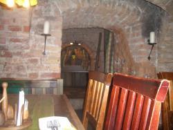 interno nel sotterraneo