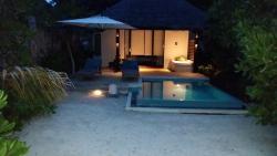 Villa vista nocturna