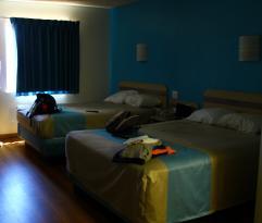 camera con due queen bed