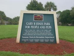 Gary B. Jones Park for People and Pups