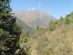 Landscape of the National Park (60km south of Bishkek)