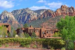 Great views all around and lovely pueblo style units