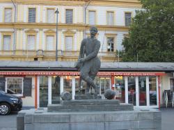 Steinerner Fischer