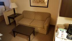 Pullout sofa bed