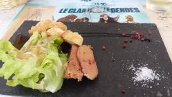 Foie gras délicieux
