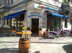 Taverna Akropolis - Der älteste Grieche Berlins