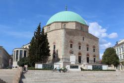 Mosque of Pasha Gazi Kassim Church of Gyertyaszentelo Boldogasszony