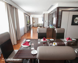 The Presidential Suite at the Swiss-Belhotel Harbour Bay