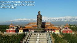 ZhangBa Stone Buddha Statues
