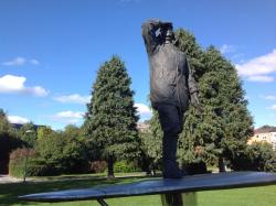 Statue of Bernt Balchen