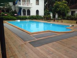 The new addition, swimming pool