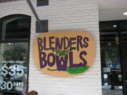 Blenders and Bowls
