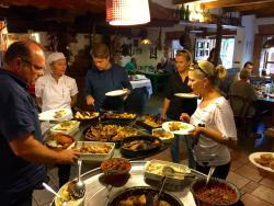 buffet lunch on weekends