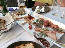 A modern Greek taverna with quality food
