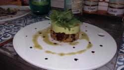 Couscous With guacamole