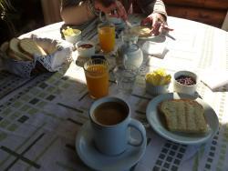 Desayuno full en La Lala....Mermeladas premiun