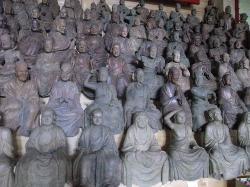 宗円寺 五百羅漢像