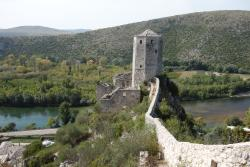 Pocitelj - Medieval town and ruins upon the hill