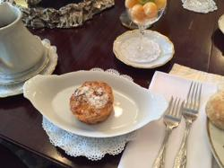 Peaches and cream french toast souffle