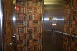 Library or elevator?