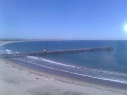View of pier from 11th floor