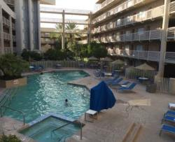 Doubletree Suites pool