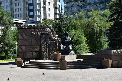 Monument to Zhambyl Zhabayev