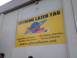Planet Laser Tag