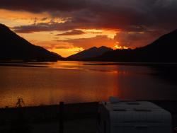 Beautiful sunset from plot 7