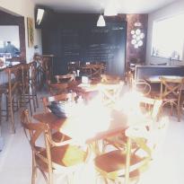 Cafe com Flores