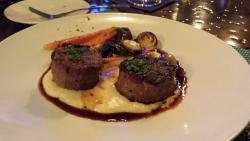 Foie Gras meatloaf and ocean cobia