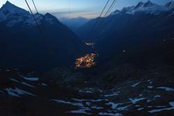 Restaurant Matterhorn glacier paradise