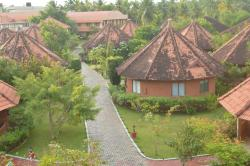 View of the resort